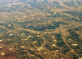 Permian Basin Aerial View